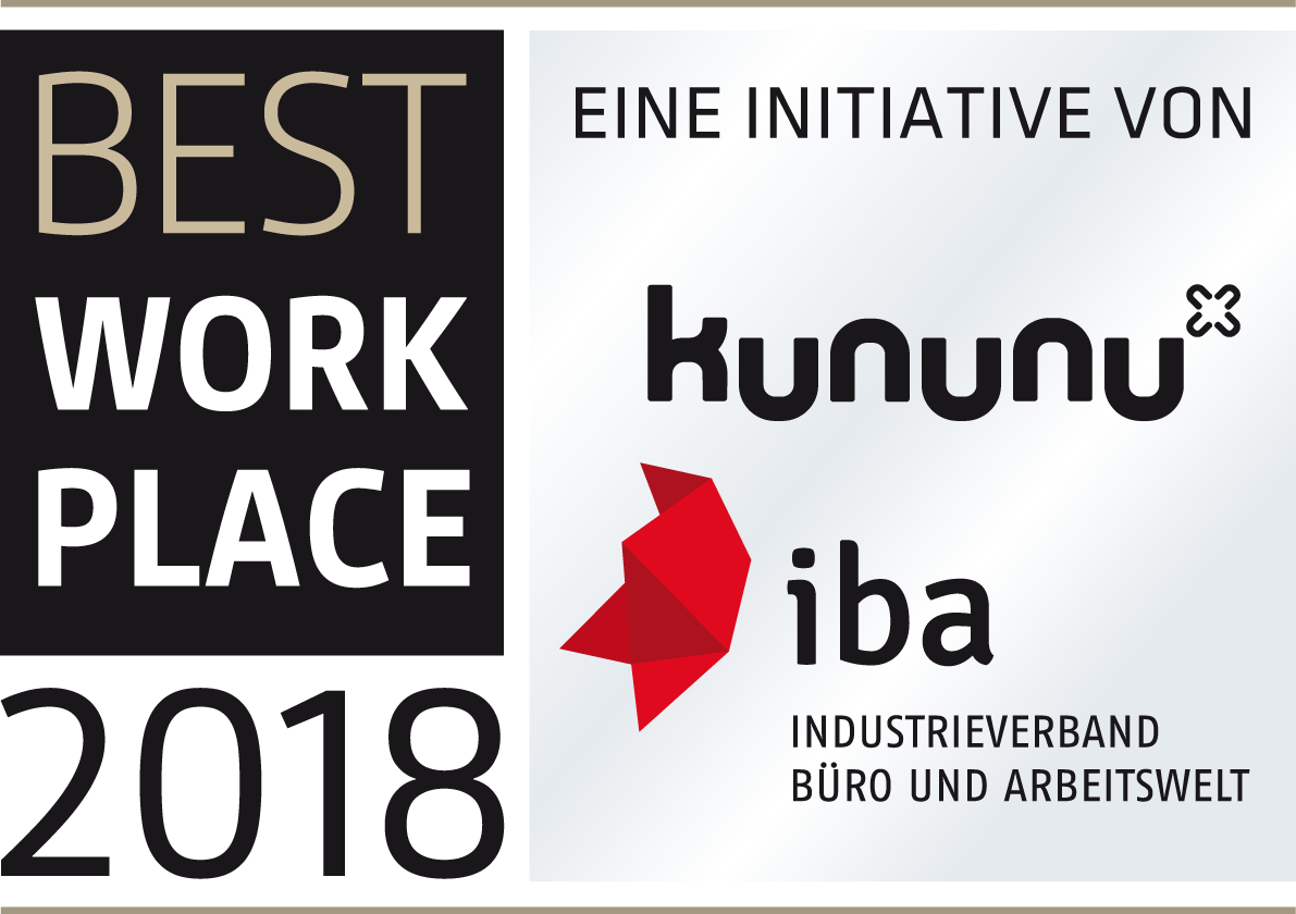 IBA Best Workplace Award