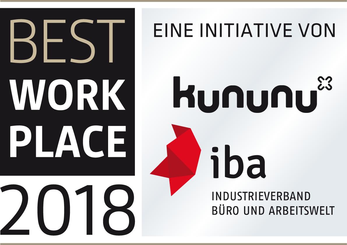 IBA Best Workplace Award
